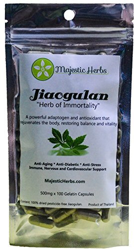 Gynostemma Pentaphyllum Majestic Herbs Immortality product image