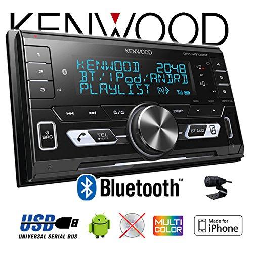 JUST SOUND best choice for caraudio Autoradio Radio Kenwood DPX-M3100BT Einbauset f/ür Seat Ibiza 6L 2-DIN Bluetooth USB VarioColor Einbauzubeh/ör