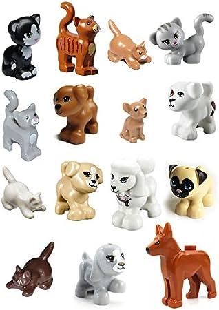 Amazon.com: LEGO 15 piezas de amigas gato perro perro perro ...