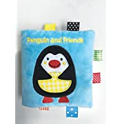 Penguin and Friends: A Soft and Fuzzy Book Just for Baby! (Friends Cloth Books)