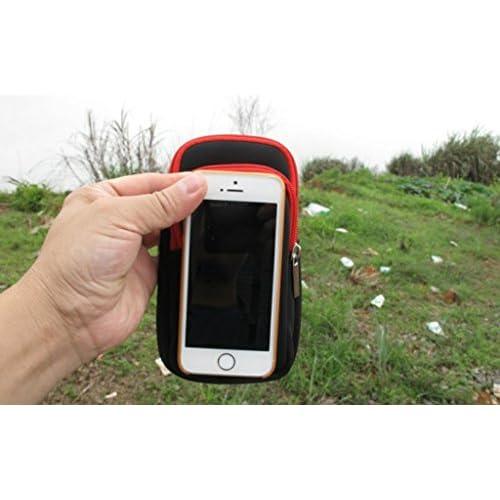 Étui de Téléphone Poche Zippée pour Sac à Dos
