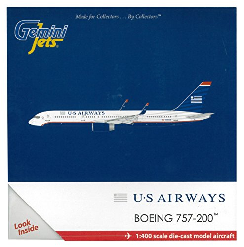 Gemini Jets US Airways 757-200W Aircraft (1:400 - Gemini Jets Airways Us