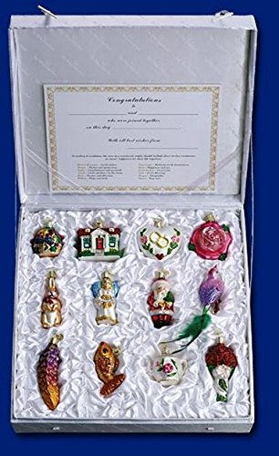 Old Box - Old World Christmas Bride's Collection Ornament Box Set