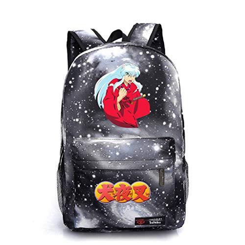 (YOYOSHome Anime Inuyasha Cosplay Daypack Bookbag Backpack School)