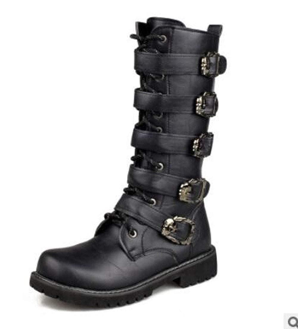 IDNG Chaussures Basket Bottes Militaires pour Hommes Bottes