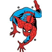 RoomMates Classic Spider-Man Comic Peel and Stick Wall Decals