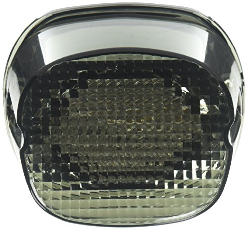 Custom Dynamics GEN2-LD-S License Plate Light (Smoke LED Laydown Taillight Without for 1999-2016 Harley-Davidson Models)