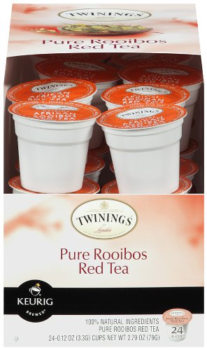 Twinings World Tea, African Rooibos Tea, 24-Count K-Cups For Keurig Brewers (Pack of 2)