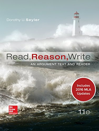 1259988597 - Read, Reason, Write 11e MLA 2016 UPDATE