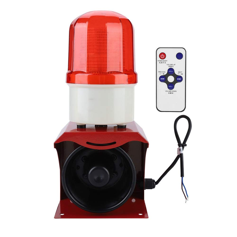 Fire Horn Siren Alarm 12-24V Sound Warning Alarm Speaker for Industry Firefighting Emergency Security Alarm Sound And Light