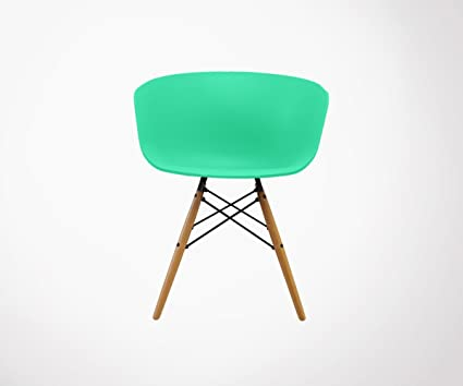 6 sillones estilo nórdico Ray - Color - menta: Amazon.es: Hogar