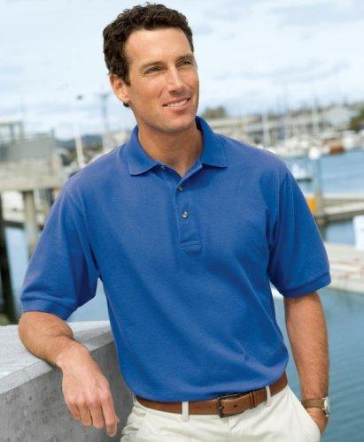 - Port Authority Pique Knit Sport Shirt - Red K420 L