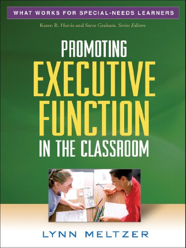 Pdf Medical Books Promoting Executive Function in the Classroom (What Works for Special-Needs Learners)