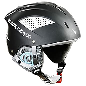 Black Canyon Aspen - Casco de esquí para adultos, color negro negro negro Talla: