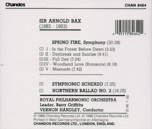 Bax: Spring Fire / Symphonic Scherzo