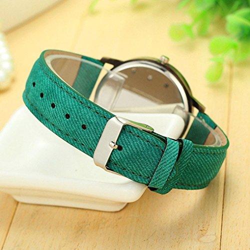 simple-wrist-watchvovomay-new-global-travel-by-plane-map-women-dress-watch-denim-fabric-green