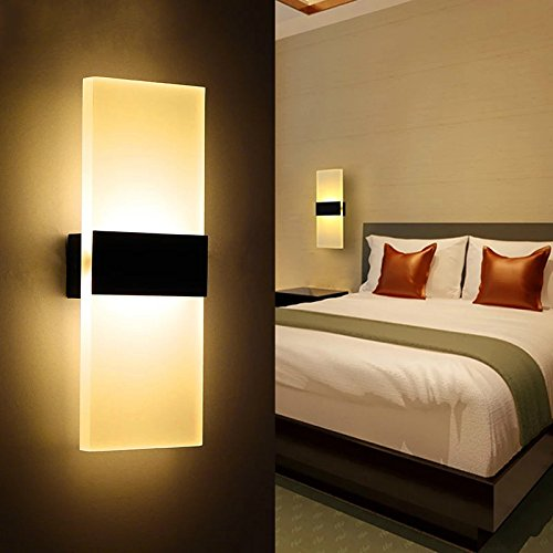 Contemporary Bedroom Wall Lights: Geekercity Wall Lights Lamps Mini Modern Acrylic 3W LED