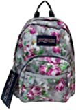 "JanSport Womens Classic Mainstream Half Pint Backpack - Multi Concrete Floral / 12.3""H X 10""W X 6.5""D"