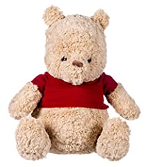 Inspired by the latest Disney Christopher Robin movie this vintage, heritage style Winnie the Pooh will make the perfect addition to your collection. The super soft plush makes him fluffy and cuddly, while his knitted red jumper makes him eas...