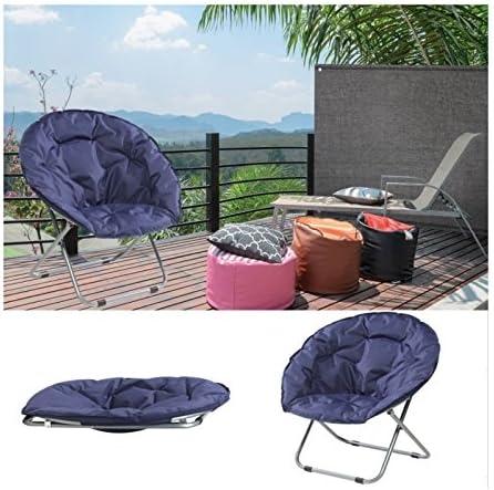 lune extérieur chaise ProBache pliant Fauteuil camping plage siège rembourré thxBQrsdC