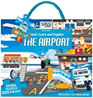 The Airport. Travel Learn And Explore. Puzzle.