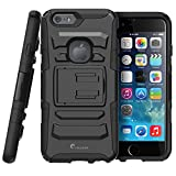 iPhone 6 Plus Case,i-Blason Prime [Kickstand] Apple iPhone 6 Plus (5.5) 2014 [Heavy Duty] [Dual Layer] Combo Holster Cover case with [Locking Belt Swivel Clip]