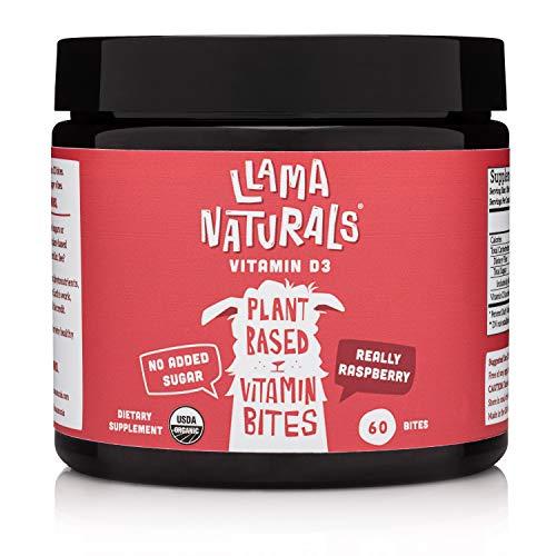 🥇 Llama Naturals Gomitas orgánicas de vitamina D3