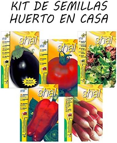 Kit selección de semillas huerto en casa: Amazon.es: Jardín