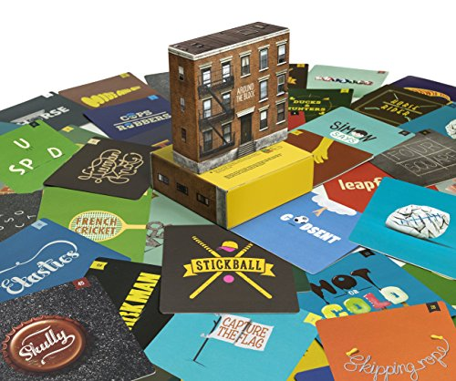 Outdoor games collection - 55 game cards from past generations to the next: Around the Block by Around The Block
