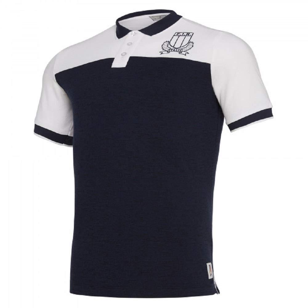 Macron Fir Italia Rugby Polo Hombre - 58100136: Amazon.es ...