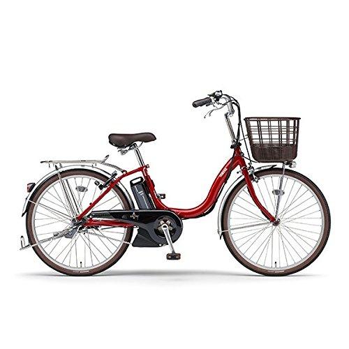 ヤマハ 電動自転車 PAS SION-U PA24SU レッド 24インチモデル B07CZYDZXS