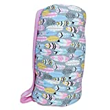AnnLoren Little Girls Fabulous Feathers Cozy Plush School Nap Time Mat