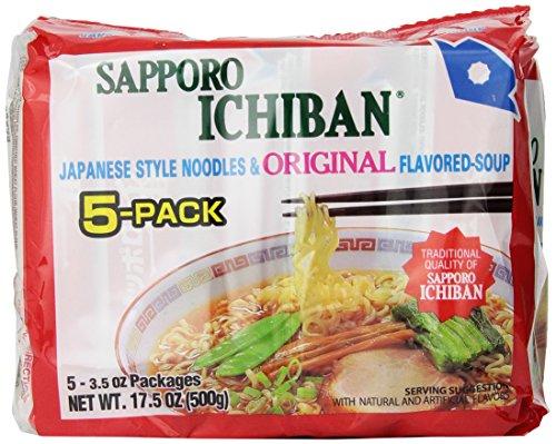 Sapporo Ichiban Original Ramen Noodles, 17.50 Ounce