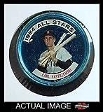 1964 Topps Coins # 134 All-Star Carl Yastrzemski Boston Red Sox (Baseball Card) Dean's Cards 4 - VG/EX Red Sox