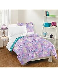 dream factory cat garden comforter set twin gray