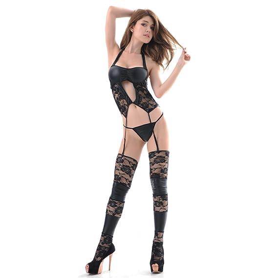 Vestido De Una Sola Pieza Traje De Lencería Sexy Cosplay Uniforme Tentación Sexy Pijamas Agregar Diversión A La Vida Sexual: Amazon.es: Ropa y accesorios