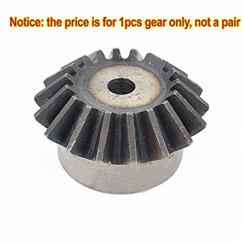 Motor Bevel Gear 1.0 Mod 30T 90° 1:1 Pairing Metal Bevel Gear x 1Pcs (30T)
