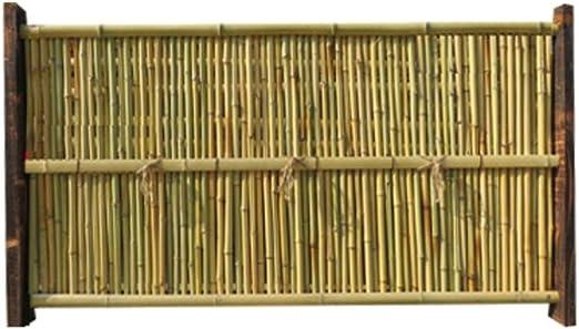 ZENGAI-vallas De JardíN Valla para Exteriores Cerca De Bambú Antiséptico Villa Al Aire Libre Cerca Barandilla Patio Cortar Casa Folk Decoración 4 Estilos (Color : D): Amazon.es: Jardín