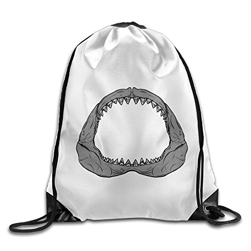 Logon 8 Cool Shark Teeth Personality Storage Bag One (Dig Laptop Messenger)