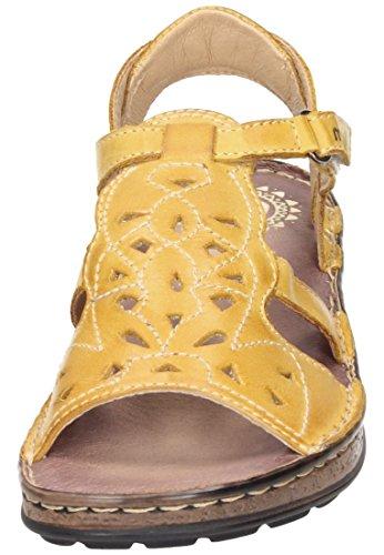Damen Gelb Damen Sandalette Damen Manitu Manitu Manitu Sandalette Sandalette Gelb Gelb Sandalette Manitu Damen WPFBtt