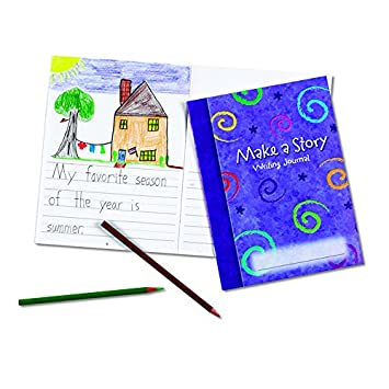 Amazon Com Learning Resources Make A Story Writing Journal 10 Set