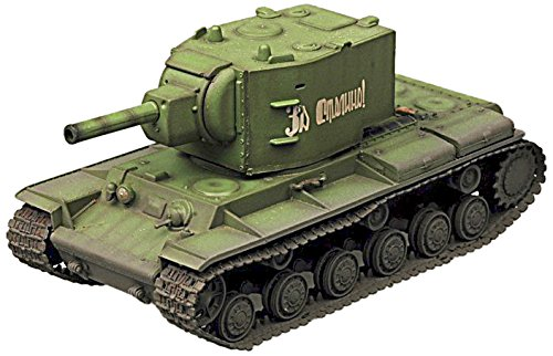 (Easy Model Kv-2 Heavy Tank-Russian Army Die Cast Military Land Vehicles)