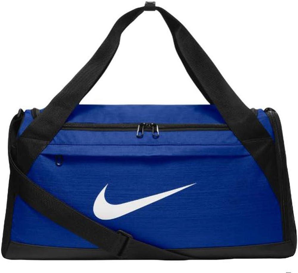 Nike Brasilia Training Duffel Bag Royal White S