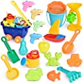 20 PCs Beach Toys for Kids Set, Outdoor Toys for Kids, Summer Fun Sand Toys and Sandbox Toys