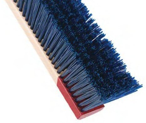 Broom Rough Surface Wood Blue