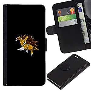 All Phone Most Case / Oferta Especial Cáscara Funda de cuero Monedero Cubierta de proteccion Caso / Wallet Case for Apple Iphone 6 // Sandslah P0Kemon