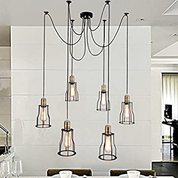Electro_bp;rustic Barn Metal Chandelier Max 200w with 5 Light ...