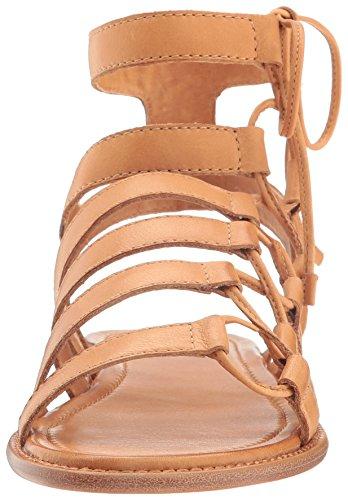 FRYE Women's Blair Side Ghillie Gladiator Sandal, Tan, 7.5 M US by FRYE (Image #4)