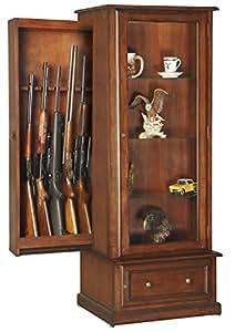 Amazon Com American Furniture Classics 611 10 Gun Curio