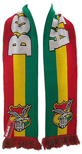 National Soccer Team Bolivia Scarf, Green, One Size